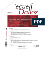 Recueil Dalloz - 201625 mireille