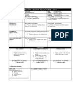 ENGLISH LESSON PLAN TEMPLATE F2.A WRITING