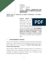 DEMANDA SOLICITA AUTORIZACIÓN PARA DISPONER DE DERECHOS DE MENOR DE EDAD