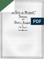 Ducci- L'Eco di Napoli. Fantasia