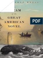 Lawrence Buell - The Dream of the Great American Novel (2014, Belknap Press)
