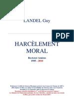 Harcèlement moral [Dossier actualisé au 1er décembre 2010]