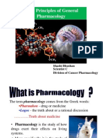 Basic Principles General Pharmacology