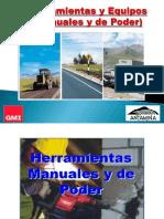 3º- Herramientas y Equipos (Manuales y de Poder