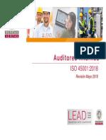 SEG037 - Auditores Internos ISO 45001 2018