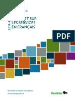 Rapport Annuel Services en Francais