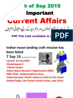 Current Affairs complete month of September 2019-1