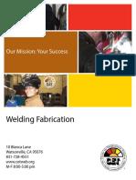 Watsonville CA Welding Fabrication Brochure