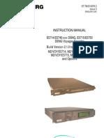 Tandberg E5740 E5714 Manual