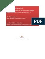 Ruptures majeures Stratégie e-Commerce 2011