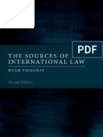 Hugh Thirlway - The Sources of International Law-Oxford University Press, USA (2019)