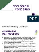 Methodological Concerns