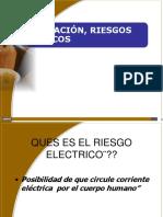 CAPACITACION USO RIESGOS ELECTRICOS