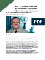 Luis Racionero - Sobre el arte contemporáneo.docx