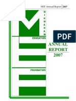 MEF Annual Report 2007