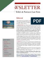 Newsletter T&P N°42 Eng