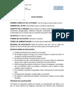 Ficha técnica psicometria II.docx