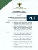 2007 PER MENPAN 09 PU Penetapan Indikator Kinerja Utama