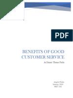 Benefits of Good Customer Service