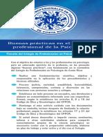 Buenas Prácticas - Fiscalía - C.P.P.C.R.