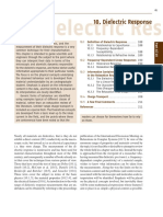 Dielectric Response