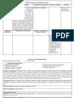 planificacion espanol Matriz de recuperación de experiencias previas sobre EL INFORME DE EXPERIMENTO CIENTIFICO