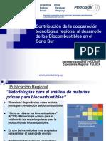 Presentacion PROCISUR- Biocombustibles