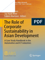 (Advances in Business Ethics Research 7) Gilbert Lenssen, Jay Hyuk Rhee, Fabien Martinez (eds.) - The Role of Corporate Sustainability in Asian Development_ A Case Study Handbook in the Automotive and