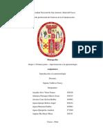 Monografía - Panorama de la epistemología