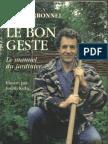 Le Bon Geste Manuel Du Jardinier (Joel Carbonnel 2000)