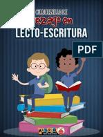 Cuadernillo de apoyo para alumnos en rezago de lecto-escritura