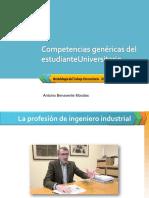 Competencias de Estudiante Universitario-INDUSTRIAL - 2019