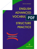 English Advanced Vocab and Structure Practice - 208p