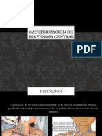 Cateterizacion de via venosa central.pptx
