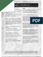 Tyranid 5th Ed Codex FAQ