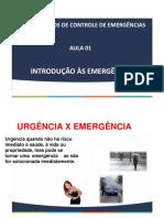 Aula_01 e 02_fundamentos de Controle de Emergencias