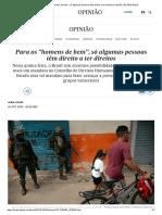 """Para os """"homens de bem"""", só algumas pessoas têm direito a ter direitos _ Opinião _ EL PAÍS Brasil.pdf"""