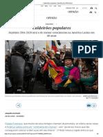 Caldeirões populares _ Opinião _ EL PAÍS Brasil