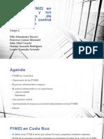 Empresas PYMES en Costa Rica y sus oportunidades de Mejora en el Control Administrativo final
