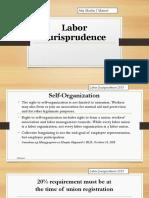 Notes on Labor Law Jurisprudence by Prof. Marlon Manuel