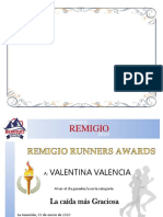 AWARDS REMIGIO 2019