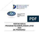 Kertas Kerja Kecemerlangan UPSR 2020 Sumbangan.doc