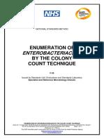 HPA (2004) Enterobacteriaceae