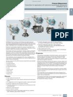 Siemens Sitrans P DS III_Press. Trans. Manual