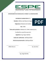 informe de suelos densidad de campo