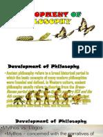 5. Development of Philosophy new