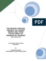 15784044 Islamic Finance and Their Financial Growth Verses Their Maqasid Alshariah