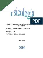 ATENCION  A LAS NECESIDADES  EDUCATIVAS  SENSORIALES.doc