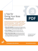 50 ManagementTips Giving your boss feedback