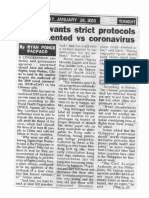 Peoples Tonight, Jan. 28, 2020, Solon wants strict protocols implementated vs coronavirus.pdf
